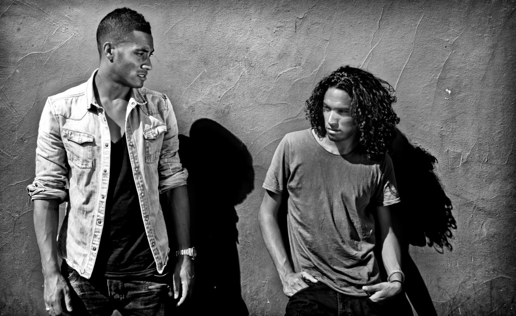 Photo of Ryan Marciano & his friend dj  Sunnery James - At work