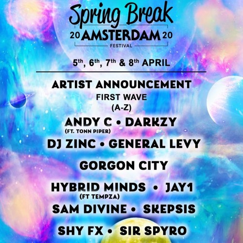 Spring Break 2020 Locations.Electroduction Spring Break Amsterdam 2020 Dj Comp